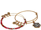 Alex and Ani Harry Potter Gryffindor Motto Set of 2 Two-Tone