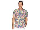 Nautica Nautica Hawaiian Print Linen Blend Shirt