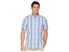 Nautica Nautica Short Sleeve Casual Plaid Shirt