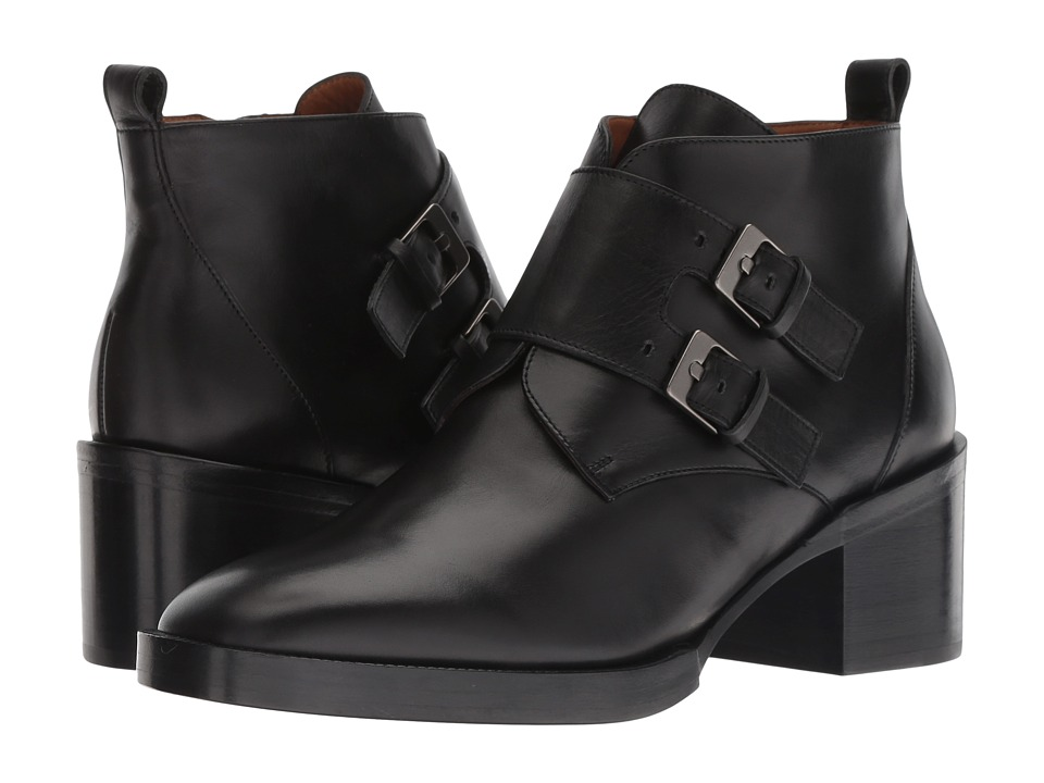 Clergerie Caius (Black Leather Calf)