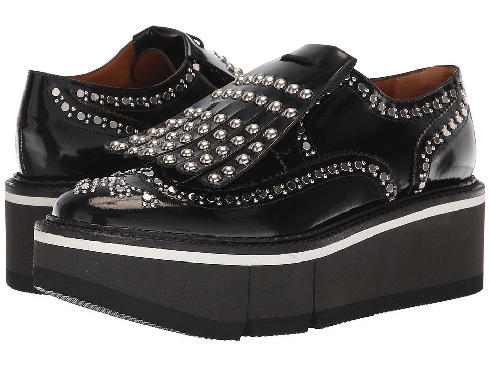 Clergerie Boelou (Black Spaz) Slip-On Shoes