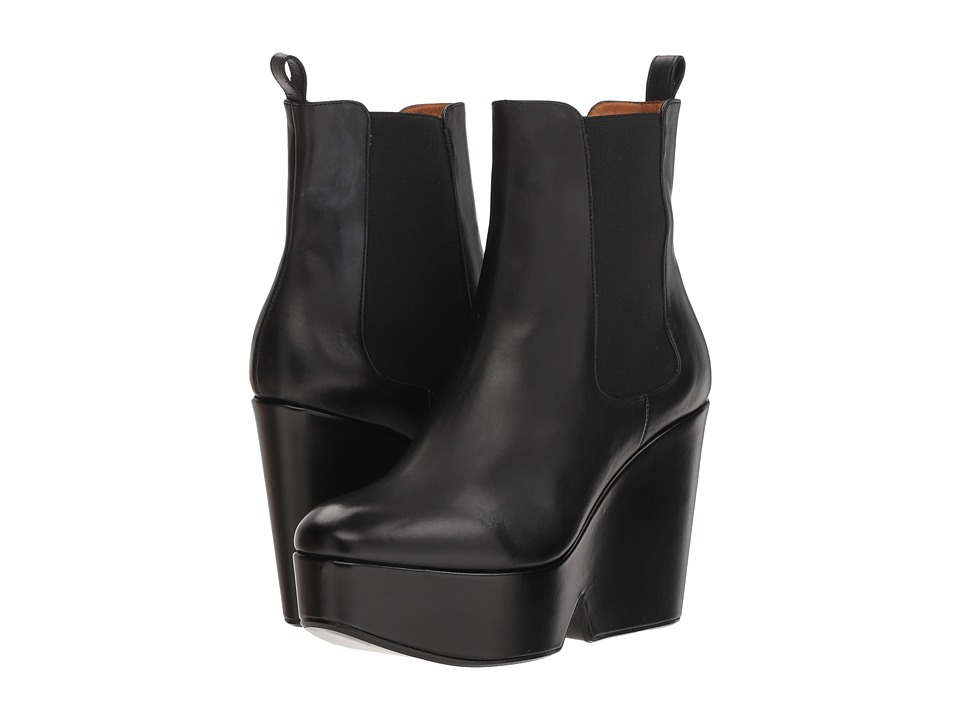 Clergerie Beatrice (Black Leather Calf)