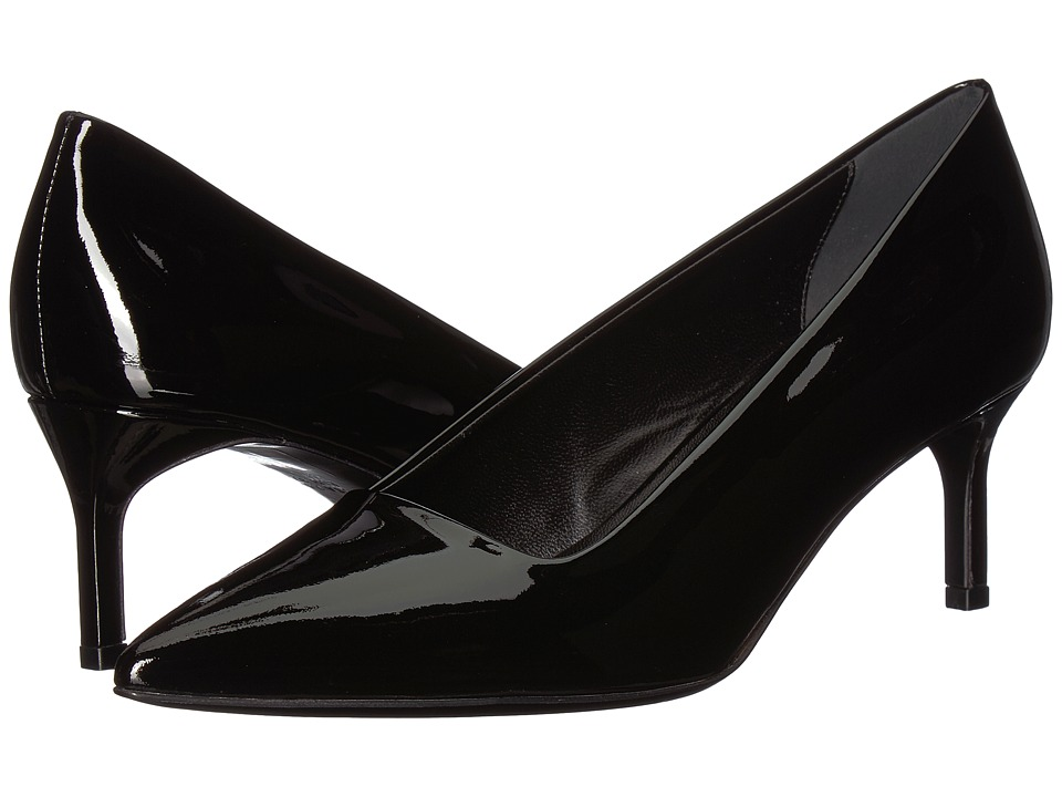 Via Spiga Bethany (Black Patent) Women's Shoes