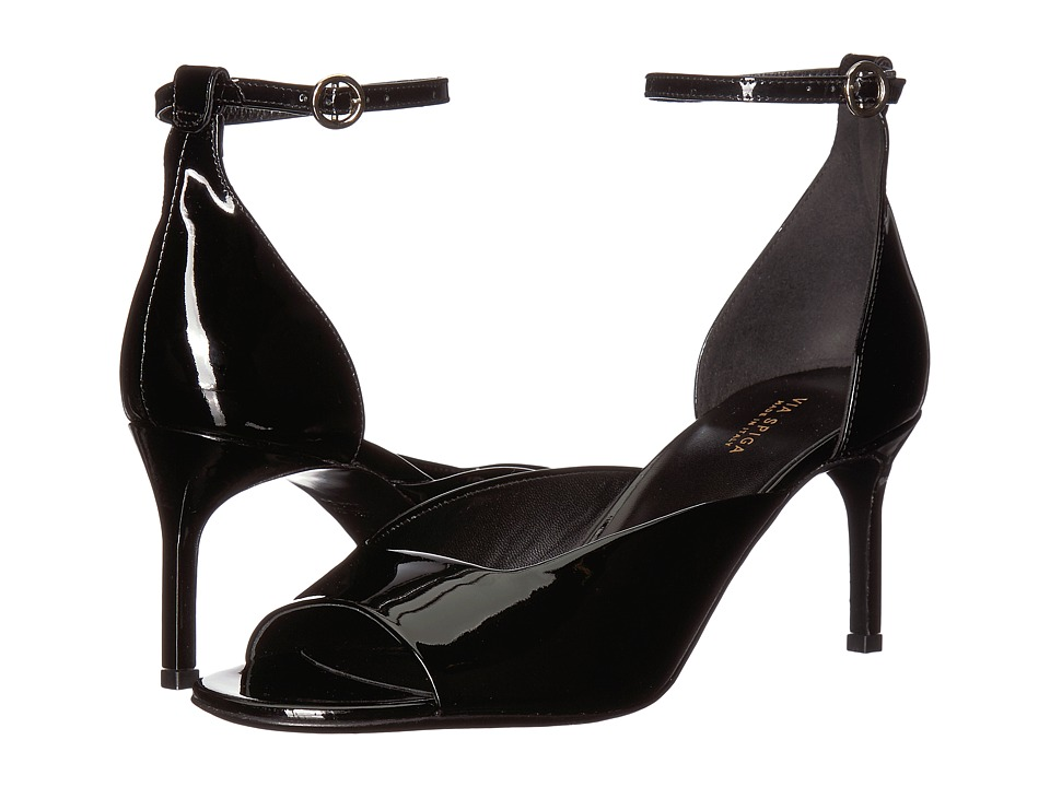 Via Spiga Jennie (Black Patent) Women's Shoes