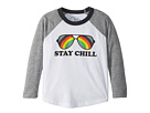 Chaser Kids Extra Soft Jersey Stay Cool Baseball Tee (Toddler/Little Kids)