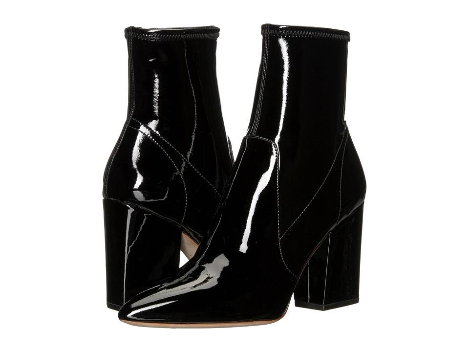 Loeffler Randall Isla Slim Ankle Bootie (Black) Women's Shoes