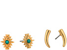 Rebecca Minkoff Set of 2 Navajo Studs Earrings
