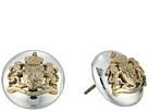 LAUREN Ralph Lauren 14mm Crest Stud Earrings