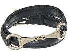 LAUREN Ralph Lauren Black 16 Leather Wrap Bracelet