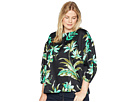 LAUREN Ralph Lauren LAUREN Ralph Lauren Plus Size Print Bishop-Sleeve Top