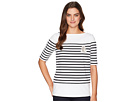 LAUREN Ralph Lauren LAUREN Ralph Lauren Striped Cotton T-Shirt