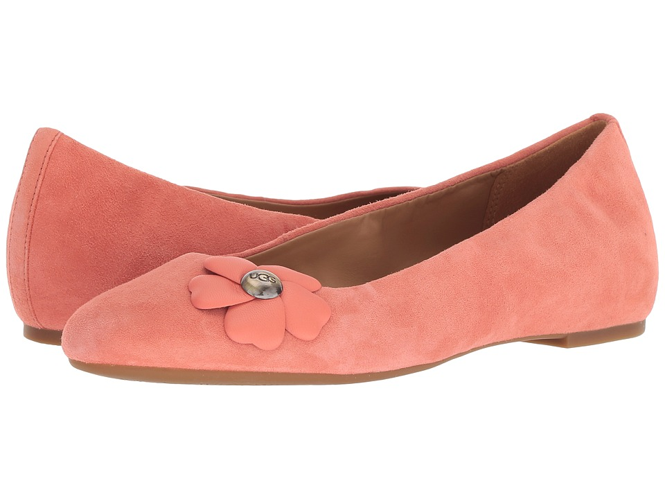 UGG Thea Poppy (Vibrant Coral) Women's Shoes