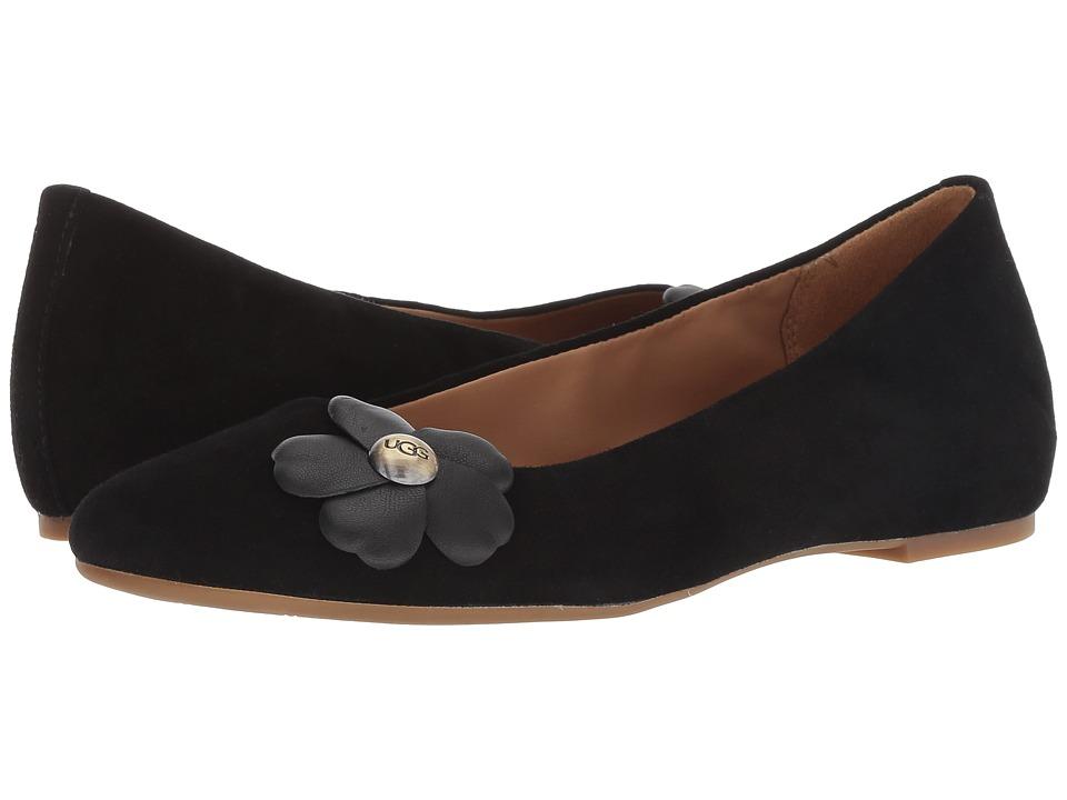 UGG Thea Poppy (Black) Women's Shoes