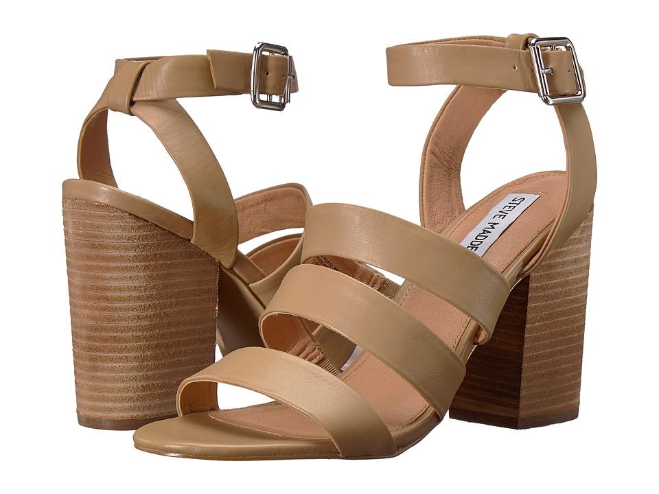 Steve Madden Vision (Natural Leather) High Heels