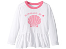 Chaser Kids Extra Soft Vintage Jersey Mermaid at Heart Tee (Toddler/Little Kids)