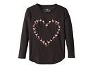 Chaser Kids Extra Soft Vintage Jersey Flamingo Heart Tee (Little Kids/Big Kids)