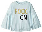 Chaser Kids Extra Soft Vintage Jersey Rock On Flared Sleeve Tee (Little Kids/Big Kids)