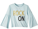 Chaser Kids Extra Soft Vintage Jersey Rock On Flared Sleeve Tee (Toddler/Little Kids)