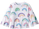 Chaser Kids Super Soft Vintage Jersey Rainbow Flared Sleeve Tee (Toddler/Little Kids)