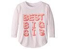 Chaser Kids Extra Soft Vintage Jersey Best Big Sister Tee (Toddler/Little Kids)
