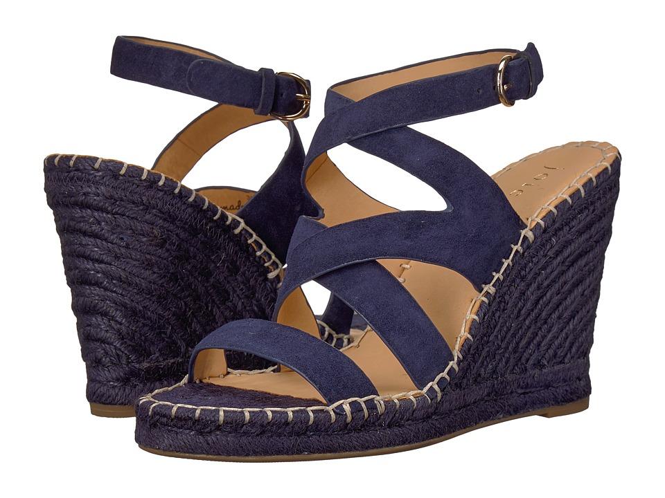 Joie Korat (Navy Calf Suede) Women's Shoes