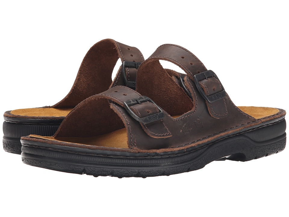 Naot - Mikael (Crazy Horse Leather) Men's Sandals