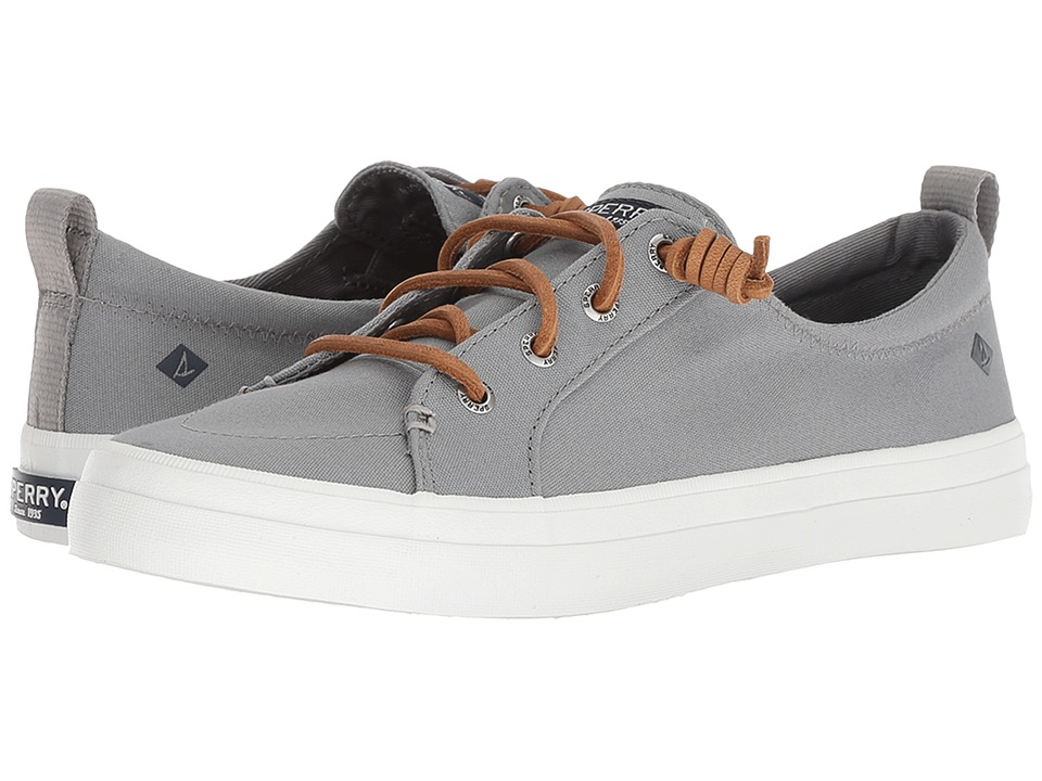 Sperry Crest Vibe Canvas (Grey) Women's Shoes