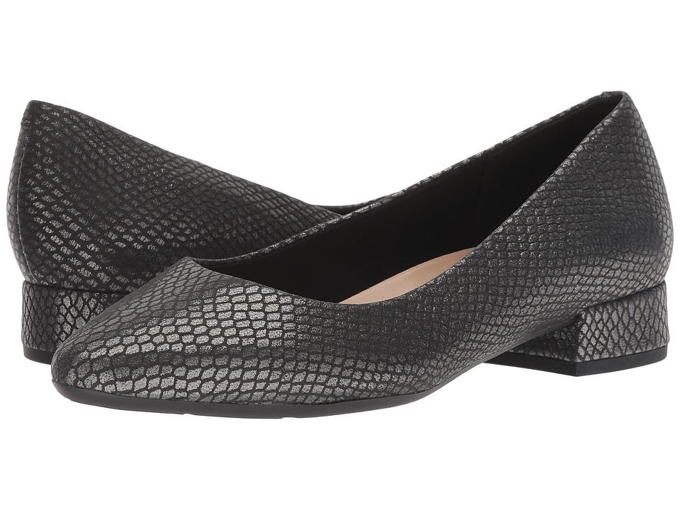 Easy Spirit Caldise (Black Suede) Women's Shoes