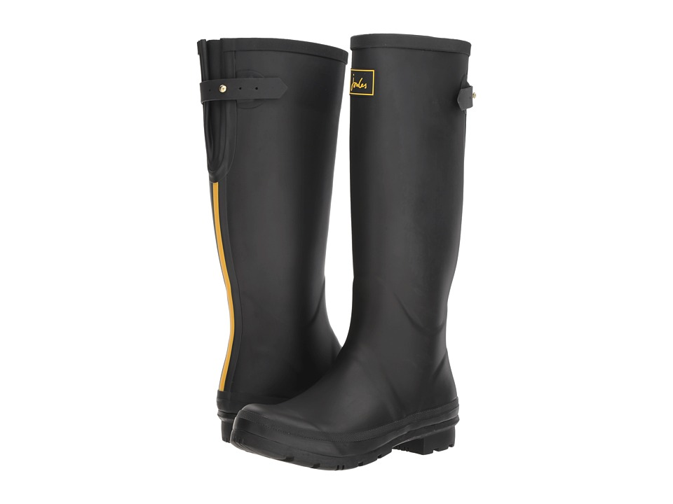 Joules Field Welly (Black) Women's Rain Boots