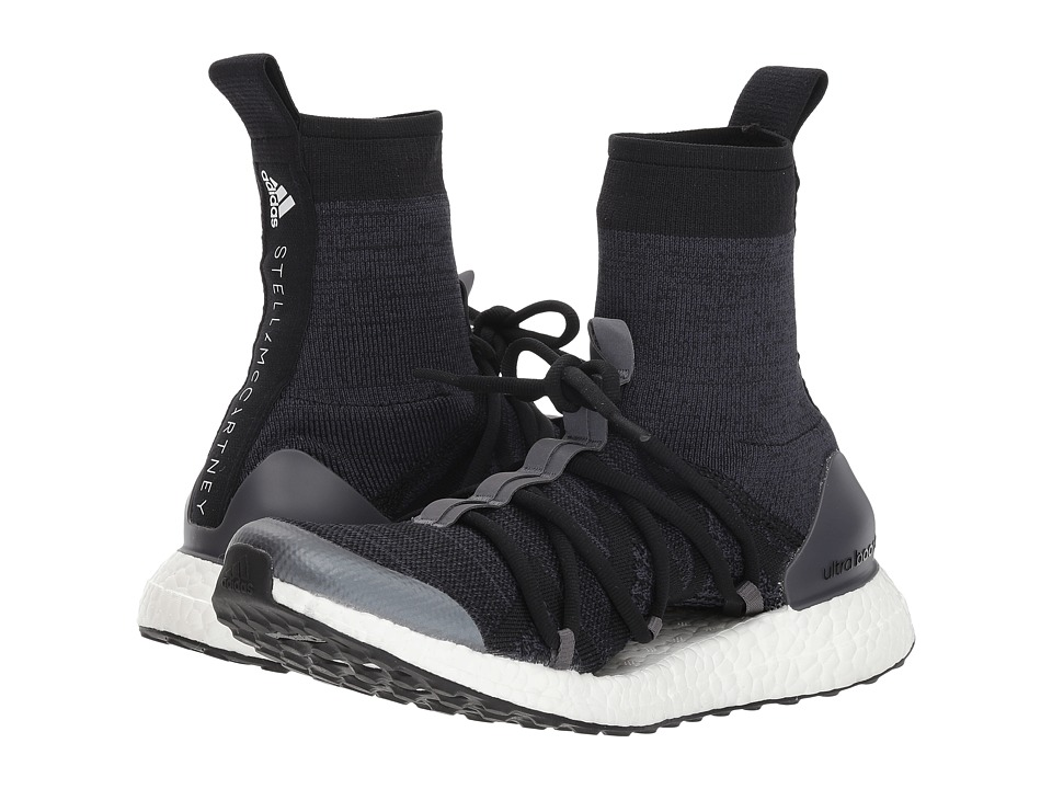 adidas by Stella McCartney Ultraboost X Mid (Black/Night Grey/Night Stone Grey) Women's Shoes