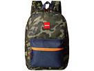 Toobydoo ZUBISU Camo Collaboration Small Backpack