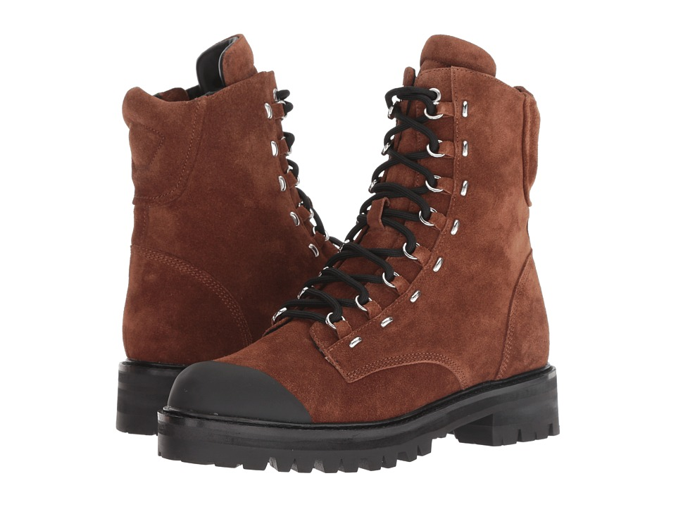 Sigerson Morrison Irene (Bruciato Brown Leather/Rubber) Women's Shoes