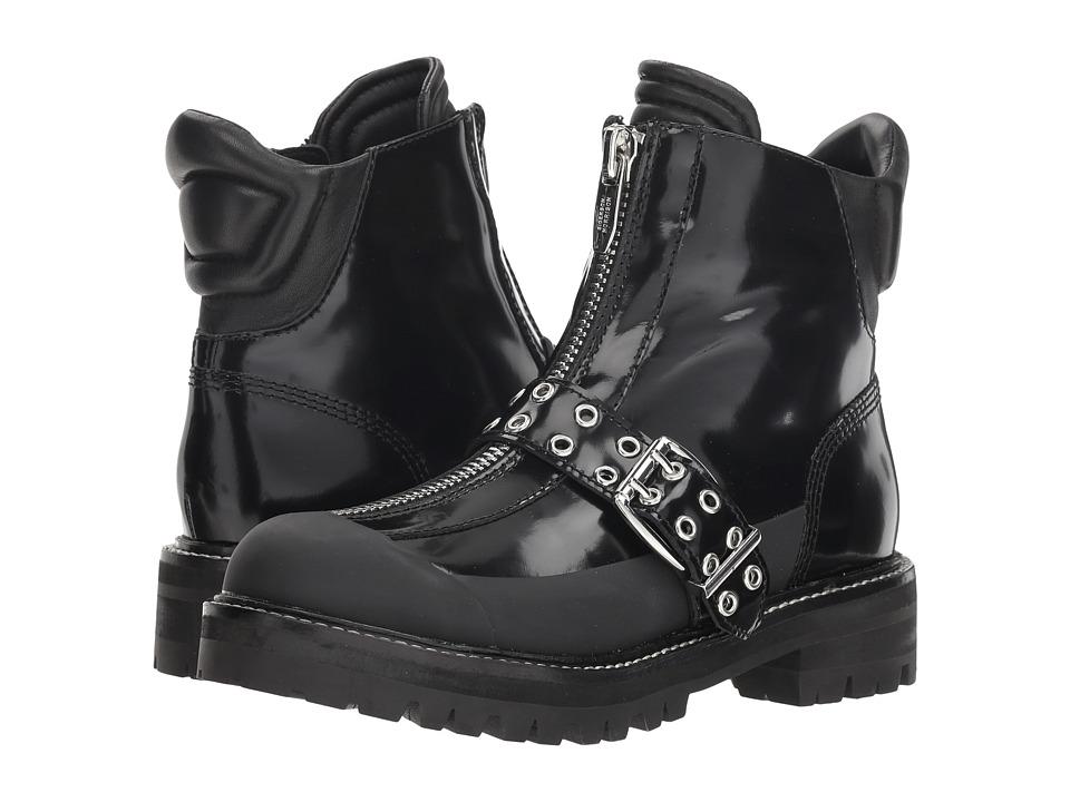 Sigerson Morrison Ipo (Black Leather/Rubber) Women's Shoes