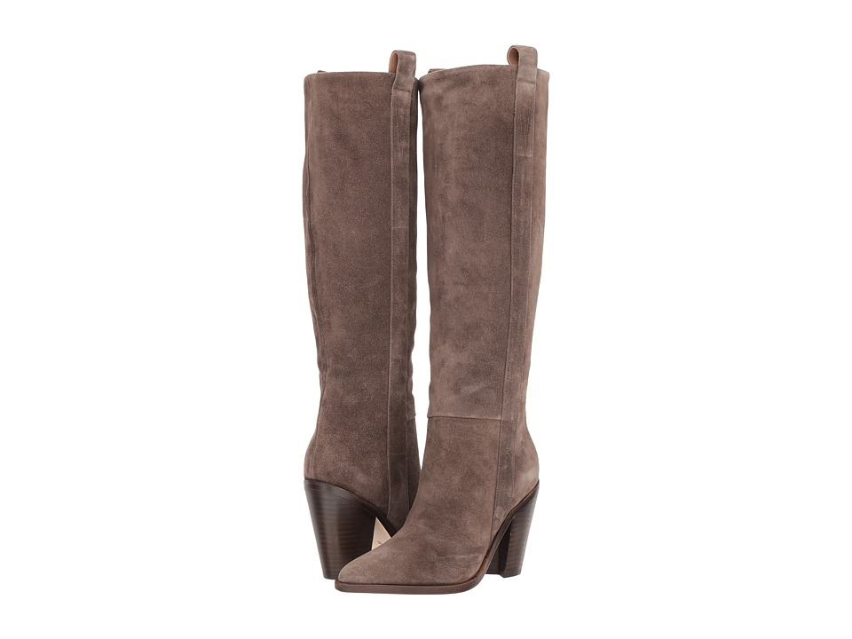 Sigerson Morrison Kaethe (Bisonte Grey Suede) Women's Shoes