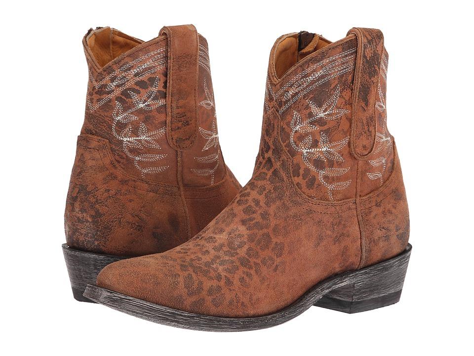 Old Gringo Razz Polozipper (Ochre) Women's Cowboy Boots