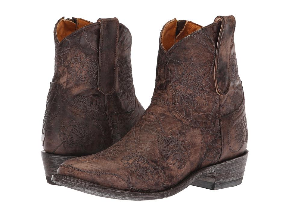 Old Gringo Razkamelozipper (Chocolate) Women's Cowboy Boots