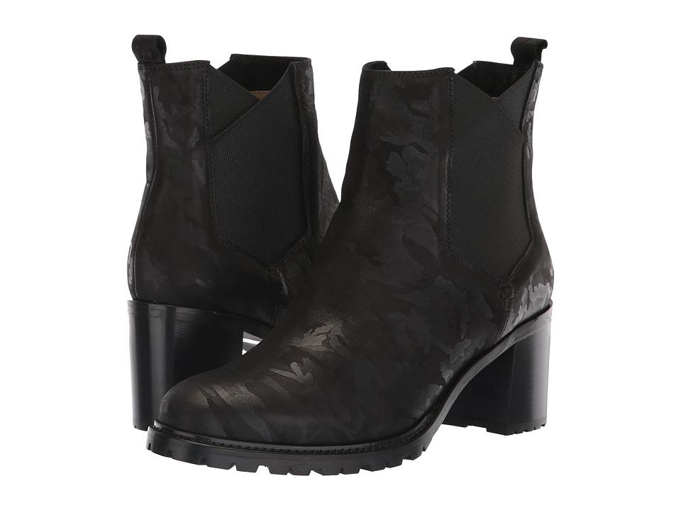 Ross & Snow Susanna Chelsea Boot (Black Camo) Women's Shoes