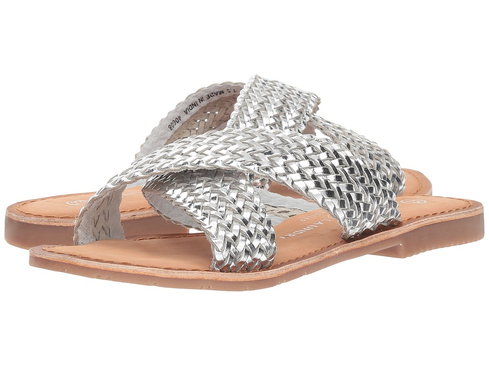 Chinese Laundry Pure (Silver Leather) Slides