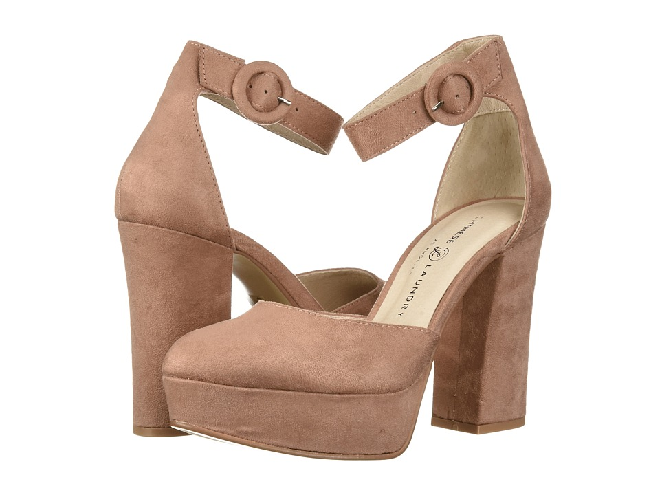 Chinese Laundry Norie (Dusty Rose Suede) High Heels