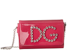 Dolce & Gabbana Kids Patent Leather Shoulder Bag