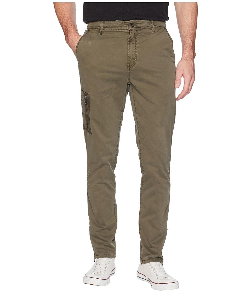 John Varvatos Star U.S.A. Cargo Pants with Zipper Details P500U2B (Olive) Men