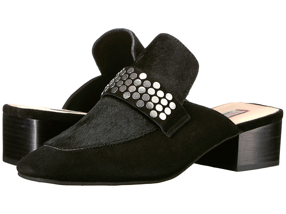 Kristin Cavallari Fearless (Black Kid Suede) Slip-On Shoes