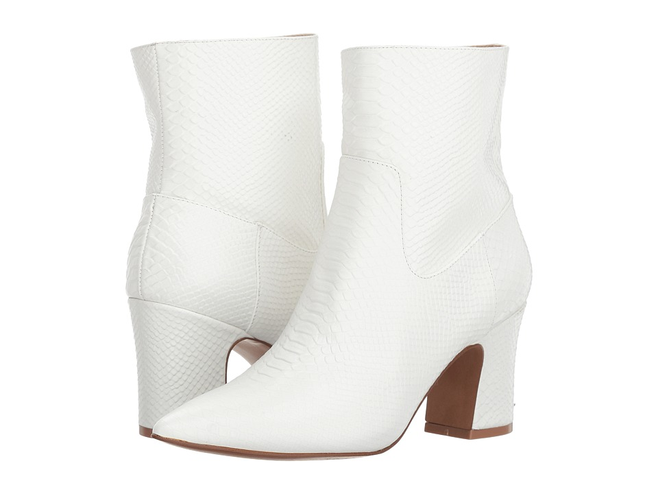 Kristin Cavallari Oakland (Cream Snake) Women's Pull-on Boots