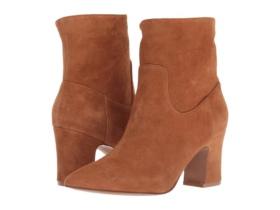 Kristin Cavallari Oakland (Caramel Kid Suede) Women's Pull-on Boots