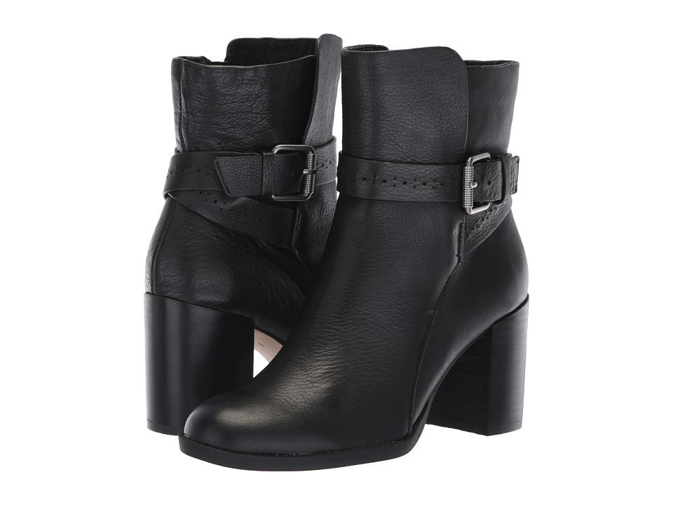 Splendid Callen (Black Leather) Women's Shoes