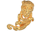Kenneth Jay Lane Satin Gold Monkey Pin