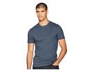 Original Penguin Short Sleeve All Over Jacquard Jasper Stripe T-Shirt