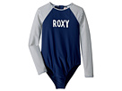 Roxy Kids Downtown Lights Long Sleeve One-Piece Rashguard (Big Kids)