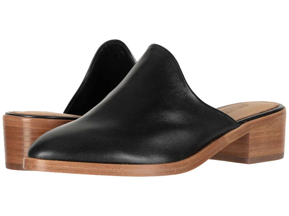 Soludos Venetian Mule (Black) Women's Shoes