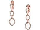 LAUREN Ralph Lauren Crystal Clip Linear Drop Earrings
